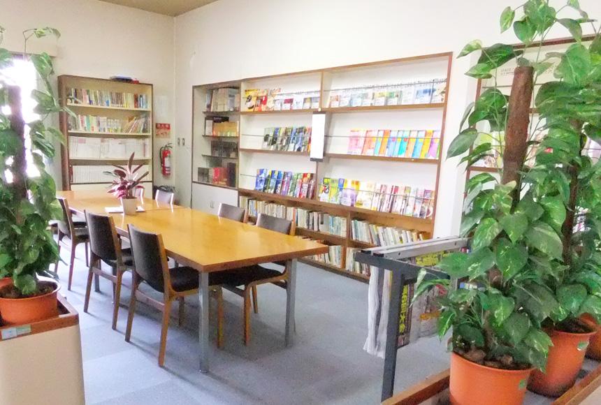藤井寺市立老人福祉センター松水苑 : 図書コーナー : Image Gallery01